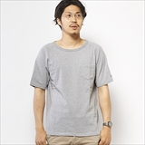 [ゴーウエスト]RAGLAN S/S TEE w/Pocket/ 14/1 HEAVY WEIGHT JERSEY