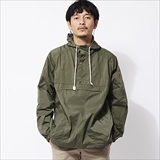 [ゴーウエスト]MOBILE HOODY / NYLON RIP TAFFETA -salt shrinking-