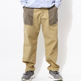 [ゴーウエスト]BASIC BAKER PANTS/NEP BACK CHINO