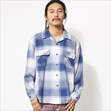 [ゴーウエスト]OUT OF BORDER SHIRTS/BIG CHECK