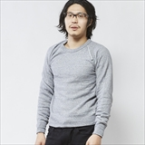 [ジムマスター]sweat raglan basic crew-neck