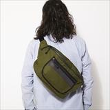 [ホーボー]CORDURA® Nylon Canvas Shoulder Bag