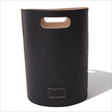 [ホーボー]Cow Leather Wastebasket