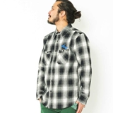[ハオミン]PANTER NEGRA Check Shirts