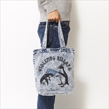[ハオミン]Penguin DENIM TOTE