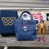 [ハオミン]ANDRE THE GIANT DENIM MINI TOTE