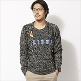 [ハオミン]WAPPEN CABLE KNIT