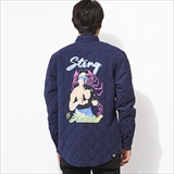 [ハオミン]WWE STING×HMG Quilting JACKET
