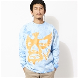 [ハオミン]ICON BIRD DYE L/S Tshirt