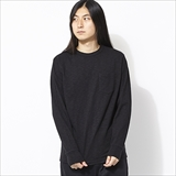 [ヘルスニット]Max Weight Slab Jersey Crewneck L/S w/Pocket