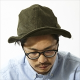 [ハンティズム]4Panel Corduroy Hat