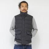 [ナンガ×ゴーアウト]TAKIBI DOWN VEST - GO OUT Version-