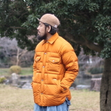[ネイタルデザイン]QUILTED DOWN SHIRTS JACKET