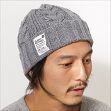 [ノマド]OUTDOOR ROPE CABLE KNIT-WATCH CAP