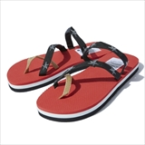[ノマド]I'LL BE BACK WARAJI STAMP SANDAL