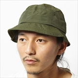 [ポーラ]TAPED SEAMS NYLON BUCKET HAT