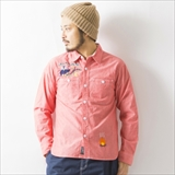 [ローリングクレイドル]BARK AT THE MOON CHAMBRAY SHIRT