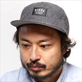 [ロアーク リバイバル]SAVEGES WOVEN LABEL MELTON CAP