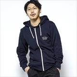 "[ロアーク リバイバル]""WELL TRAVELED""F/Z HOODED L/W SWEAT"