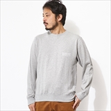"[ロアーク リバイバル]""INSCRIPTION""CREW NECK L/W SWEAT"