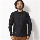 [ローター]Switching Military Shirt