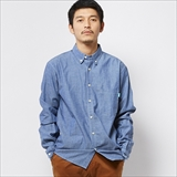[ルツボ]RTB CHAMBRAY SHIRTS
