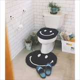 [セカンドラブ]SMILE ROUND BATHROOM RUG