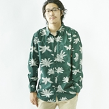 [ポーラ]MENS LONG SLEEVE BUTTON-UP