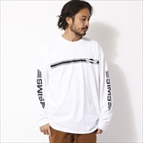 [シムススケートスタイル]STRIPE LOGO LONG SLEEVE T-SHIRTS