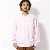[シムススケートスタイル]SCRIPT LOGO LONG SLEEVE T-SHIRTS