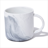 [サックユーケー]Black Marble Effect Mugs