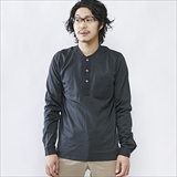 [スワーブ]cotton/Modal long sleeve henley