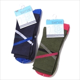 [スワーブ]Merino over under socks