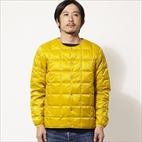 [タイオン]CREW NECK BUTTON DOWN JACKET (MENS)