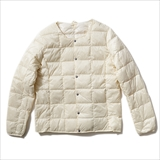 [タイオン]CREW NECK BUTTON DOWN JACKET (WOMENS)