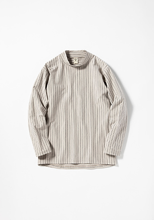 Stretch LS Midneck Shirt