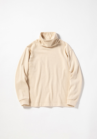 Heavy Pima Sweat Highneck