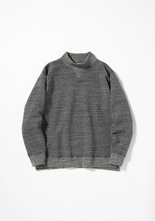 Quilt Sweat V-High Neck