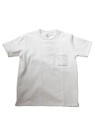 Non-wash Dotsume Pocket T-Shirt