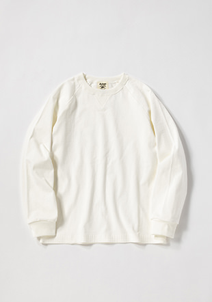 Non-wash Dotsume Crew-neck Shirt