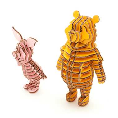 3601350 POOH&PIGLET YELLOW&PINK