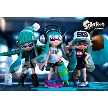 【メーカー取寄】300-1121 Splatoon GIRLS