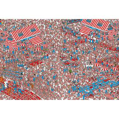 31-445 Where's Wally? ウーフの国