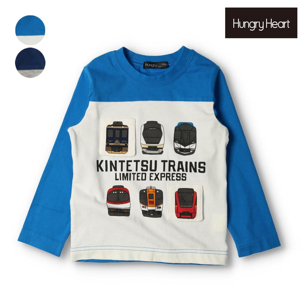 Hungry Heart (ハングリーハート) 近鉄電車プリントTシャツ 90cm~140cm K52810