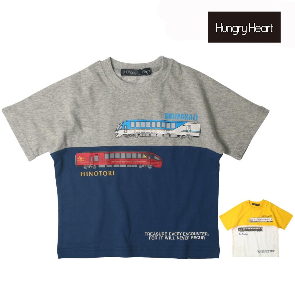 Hungry Heart (ハングリーハート) 近鉄電車切替半袖Tシャツ 90cm~140cm K32831