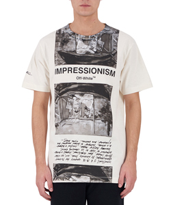 NEWSPAPER S/S SLIM TEE