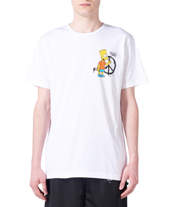 BART PEACE SIGN S/S SLIM TEE