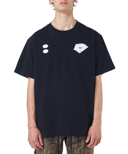 HAND CARD S/S OVER TEE