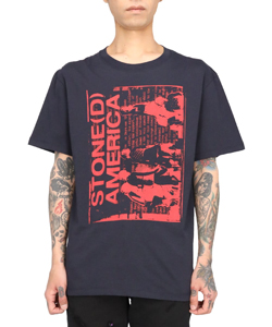 SLIM FIT T-SHIRT STONED AMERICA