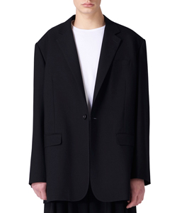 WOOL GABARDINE BIG 2B JACKET